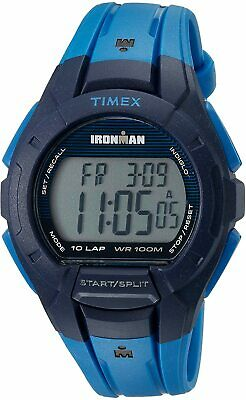 Timex Men's TW5M11400 Ironman Essential 42mm Digital Dial Resin Watch