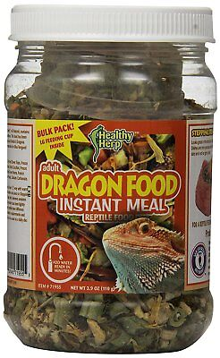 SAN FRANCISCO BEARDED DRAGON HEALTHY HERP FOOD ADD WATER 3.9 OZ. FREE SHIP USA