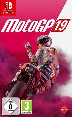 Nintendo SWITCH Spiel Moto GP 19 MotoGP 2019 NEU NEW 55