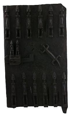 Door Dogon Attic in Mil Mali 66x38 cm - Flap Case - 450w Art African - 1048