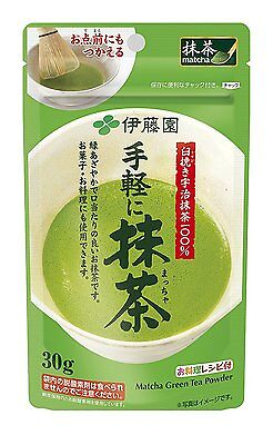 Ito en Japanese green tea Matcha Tea Powder Itoen 30g Japan import Free shipping