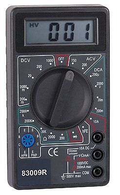 Philex 83009r Pocket Digitel Multimeter Electrical Test Equipment