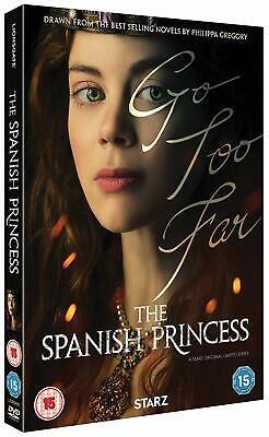 THE SPANISH PRINCESS (Part 1 2019): TV Season Series - NEW Eu Rg2 DVD not US