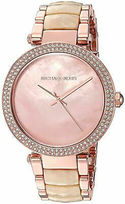 Michael Kors Women's MK6492 Parker Rose Gold Tone Stainless Steel Watch