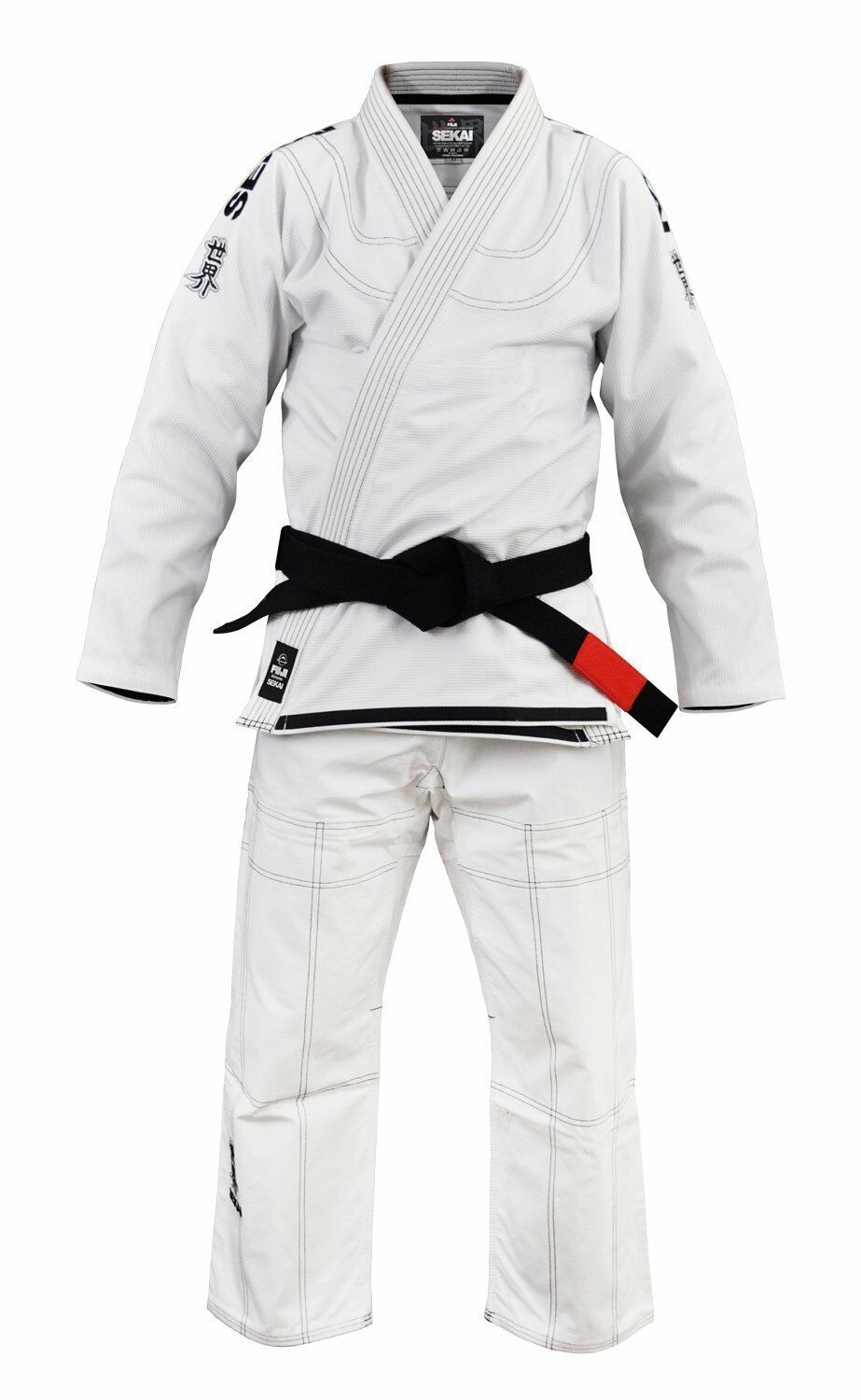 "New Fuji Sports Sekai ""World"" Mens Brazilian Jiu-Jitsu BJJ G"