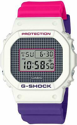 Casio G-Shock Digital Resin Limited White/Purple/Pink Men's Watch DW5600THB-7