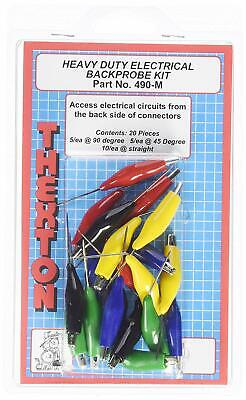 Thexton THE490M Mixed Heavy Duty Electrical Back Probe Kit New Free Shipping USA