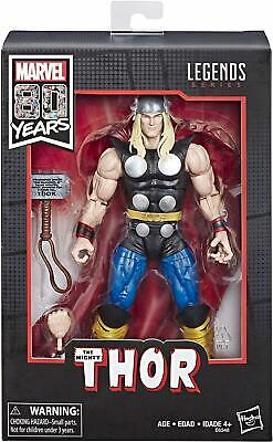 "Marvel Legends 80th Anniversary Thor 6"" Action Figure Hasbro NIP Classic Look"