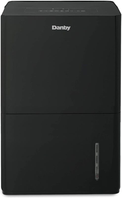 Danby 50 Pint 2-Speed Portable Dehumidifier w/ Vertical Pump