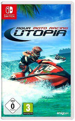 Nintendo Switch Game Aqua Moto Racing Utopia New