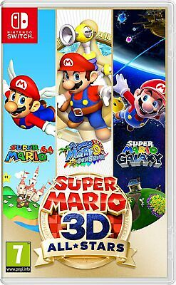video games - Super Mario 3D All-Stars Nintendo SWITCH NEW SEALED 3 Games in 1 Collection