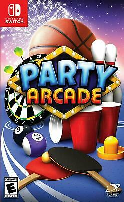 Party Arcade (Nintendo Switch, NSW) Brand New Factory Sealed](Party Factory)