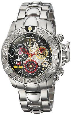 Invicta Women's 24506 Disney Limited Edition Subaqua Chronograph Skeleton Watch
