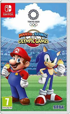 Mario & Sonic at the Olympic Games Tokyo 2020 Nintendo Switch New Official