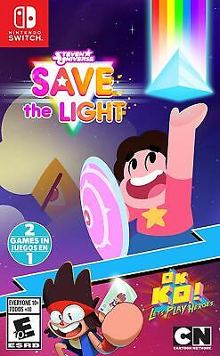 Steven Universe: Save The Light & OK K.O.! for Nintendo Switch BRAND (Steven Universe Save The Light Nintendo Switch)