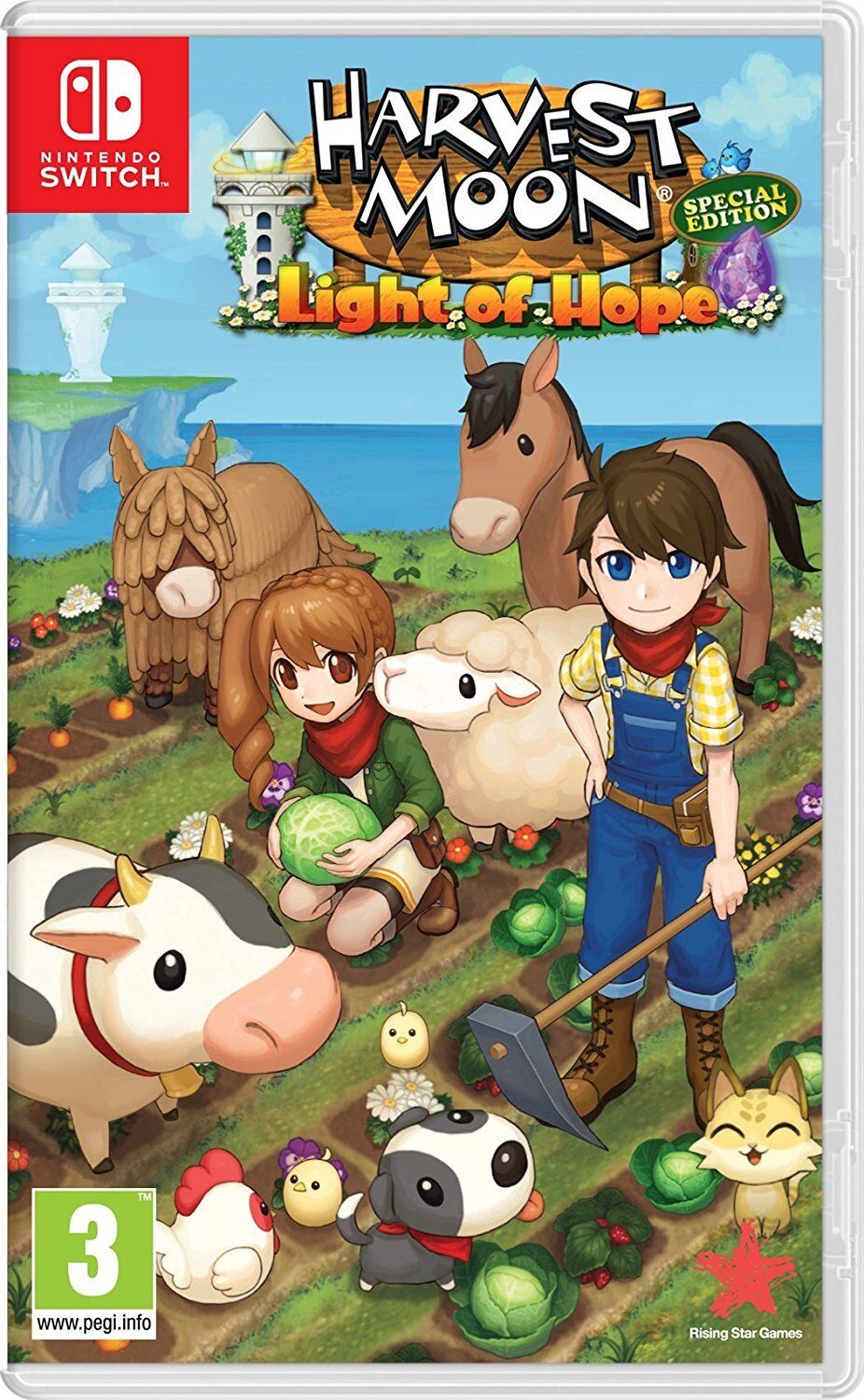 Details about Harvest Moon Light of Hope Special Edition for Nintendo  Switch NS