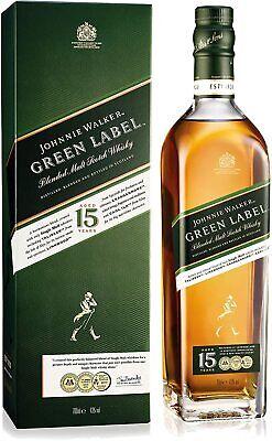 Johnnie Walker Green Label 15 Jahre Blended Malt Scotch Whisky 0,7l