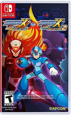 Nintendo Switch Spiel Mega Man X Legacy Collection 1 + 2 NEUWARE
