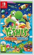 Yoshi's Crafted World - Nintendo Switch NEW