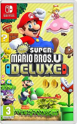 New Super Mario Bros. U Deluxe - Nintendo Switch Brand New