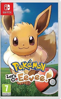 Pokémon: Let's Go, Eevee! (Nintendo Switch) NEW