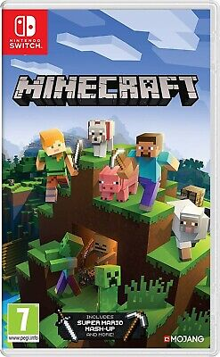 NINTENDO SWITCH NSW VIDEO GAME MINECRAFT EU BRAND NEW AND SEALED