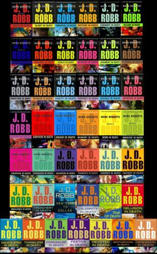 JD Robb In Death Complete Audiobook Collection 58 Novels Unabridged Audio Books