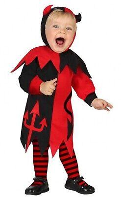 Baby Mädchen Süße Teufel Dämon Halloween Karneval Kostüm 0-3 (Baby Teufel Kostüm Halloween)