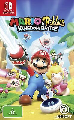 Mario + Rabbids Kingdom Battle Family Kids Adventure Game For Nintendo Switch](Mario Games For Kids)