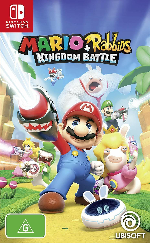 Mario + Rabbids Kingdom Battle Family Kids Adventure Game Fo