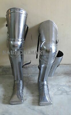 Knight Leg Armor (Medieval Knight Armor Leg Guard Set Greaves)