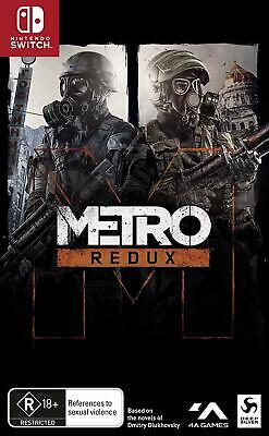 Metro Redux Nintendo Switch Apocalypse In Russia Survival Shooter Action Game