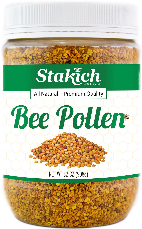 2 lb BEE POLLEN GRANULES Fresh Pure 100% Natural Raw Flower Gluten & GMO Free