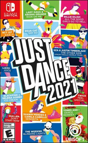 Lot of 6 Units Just Dance 2021 -- Standard Edition (Nintendo Switch, 2020)