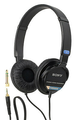 Used, Sony 80D Pro stereo headphone for Canon SH02 80D 70D 60D 7D 6D EOS DSLR for sale  Shipping to India