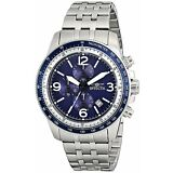 Invicta Men's 13961 Specialty Chronograph Stainless Blue Dial Watch