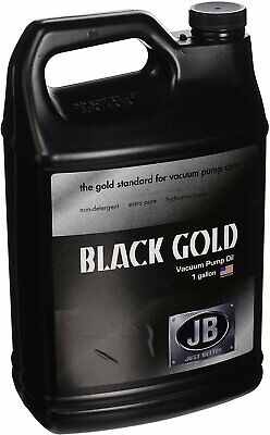 Jb Industries Dvo-24 Bottle Of Black Gold Vacuum Pump Oil 1 Gallon -...