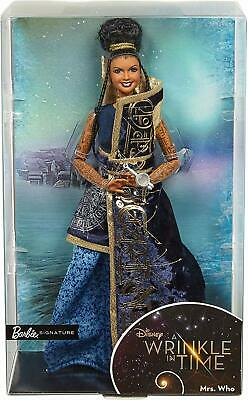 "2017 Disney ""A Wrinkle in Time"" Mrs. Who Barbie Signature Doll New in Box"