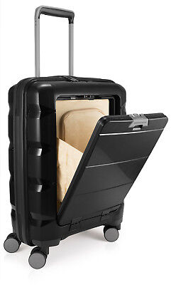HAUPTSTADTKOFFER BRITZ Cabin Luggage Suitcase Hardside Spinner Trolley TSA ()