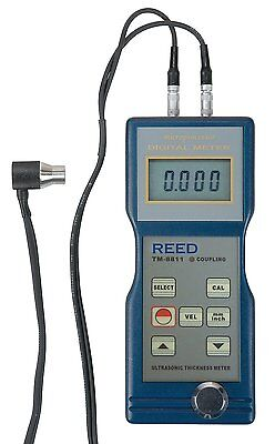 Reed Tm-8811 Ultrasonic Thickness Gauge 0.05 To 7.91.5 To 200mm Range