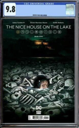 THE NICE HOUSE ON THE LAKE #1 CGC 9.8 1st Print Pre-Order DC comics ETA OCT 2021