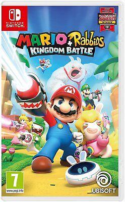 Mario + Rabbids Kingdom Battle Nintendo Switch Game - NEW & SEALED