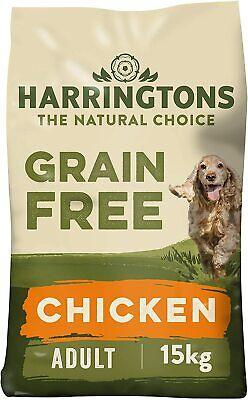 Harringtons Dry Dog Food Grain Free Hypoallergenic Chicken & Sweet Potato 15 kg