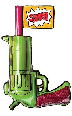 Aufblasbare Aufblasfigur Joker Dc Comic Pistole Kostüm Outfit - Aufblasbare Pistole