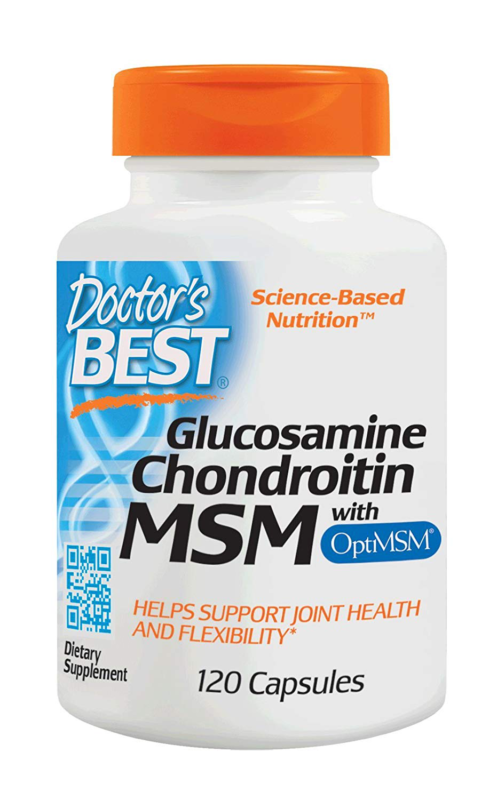 Doctor's Best Glucosamine Chondroitin MSM with OptiMSM, Join