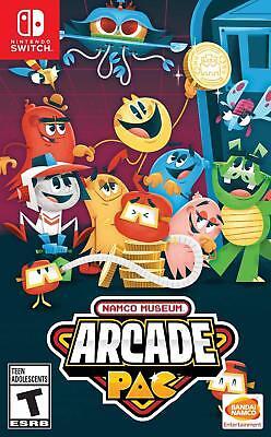 Namco Museum Arcade Pac (Nintendo Switch, NSW) Brand New Factory Sealed comprar usado  Enviando para Brazil