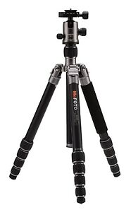 New-MeFOTO-A2350Q2T-GlobeTrotter-Travel-Tripod-Kit-Titanium-26-4lbs-Max-Load