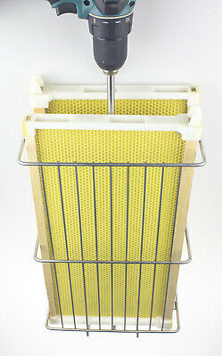 Steelbees Honey Extractor Shaft With Twin-basket For All Langstroth Frames