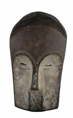 Masquette Mask Diminutive African Tsogho Gabon Wood 14.5cm Art First 16753