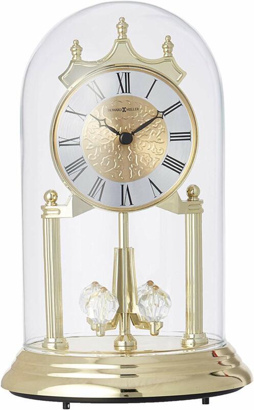 Howard Miller Christina Gold Anniversary Table Clock 645-690 - Quartz Movement